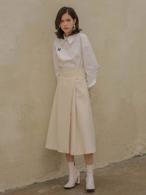 002 Two-way belt skirt [IV]
